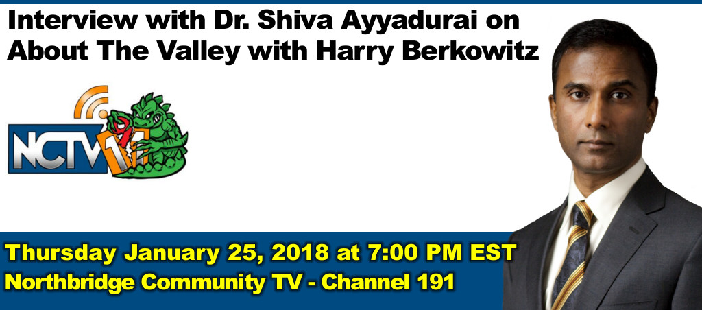 Interview With Dr. Shiva Ayyadurai On About The Valley With Harry Berkowitz