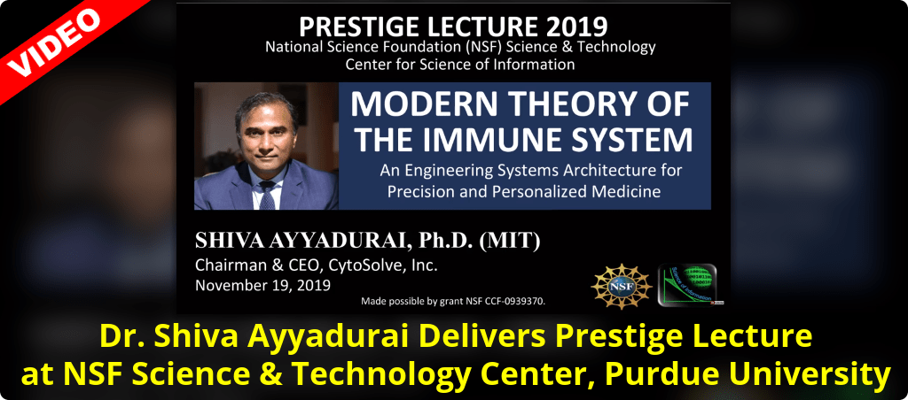 Dr. Shiva Ayyadurai Delivers Prestige Lecture At NSF Science And Technology Center At Purdue University