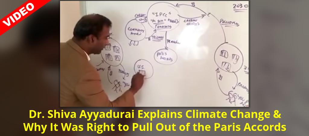 Dr. Shiva Ayyadurai Explains Climate Change