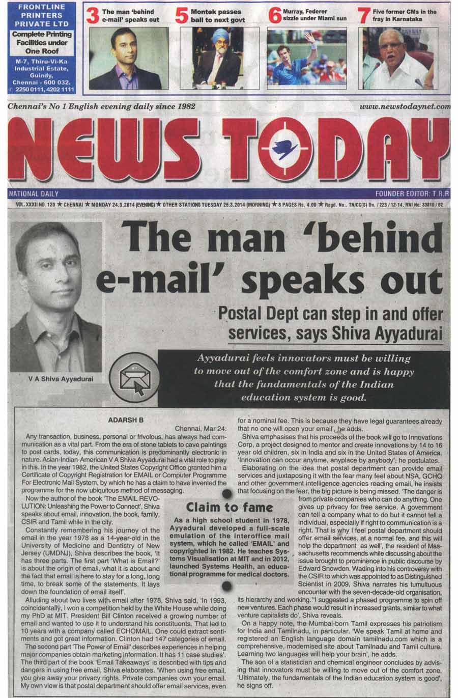 The Man Behind Email Speaks Out