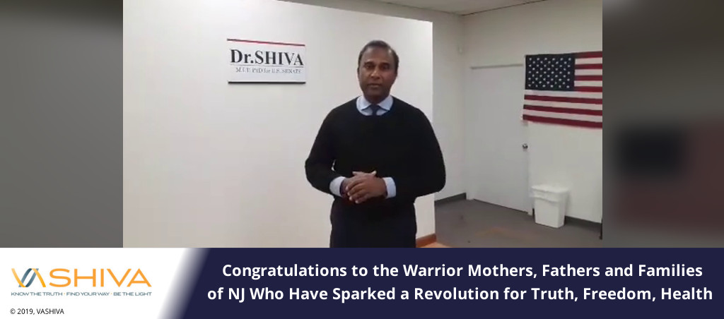 Congratulations To The Warrior Mothers, Fathers And Families Of NJ Who Have Sparked A Revolution For Truth, Freedom, Health