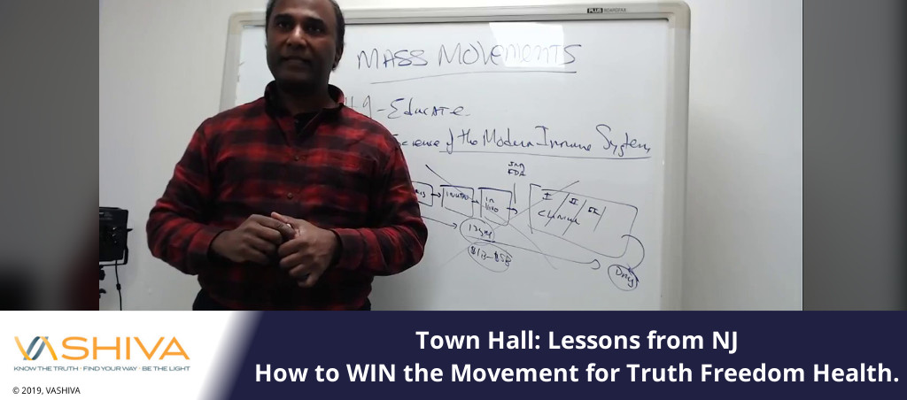 Town Hall – Lessons From NJ. How To WIN The Movement For Truth Freedom Health