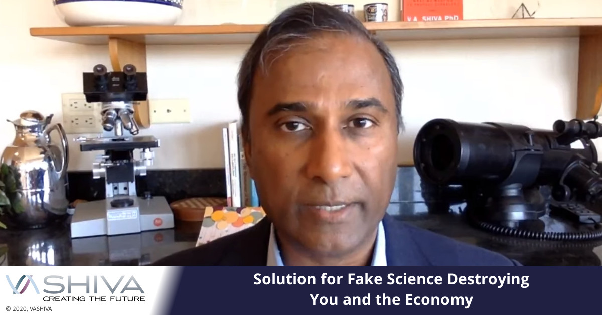 Solution For Fake Science Destroying You And The Economy