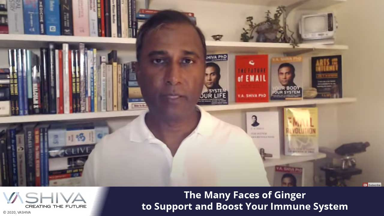 The Many Faces Of Ginger To Support And Boost Your Immune System