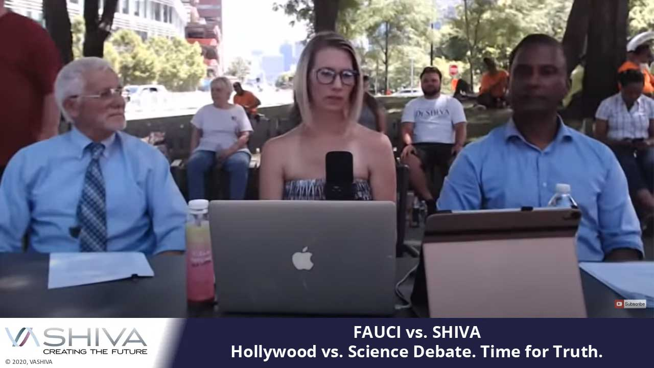 FAUCI Vs. SHIVA – Hollywood Vs. Science Debate