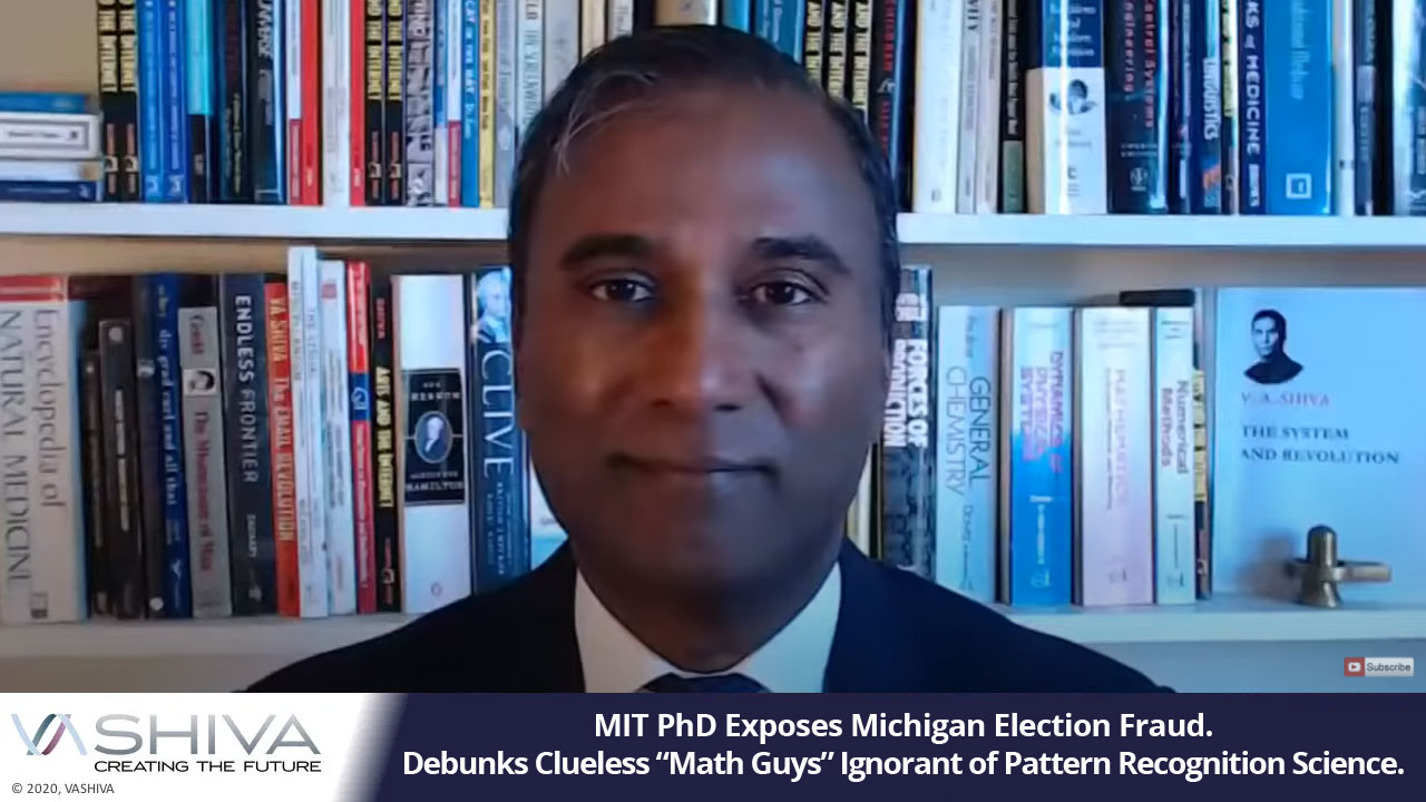 """MIT PhD Exposes Michigan Election Fraud. Debunks Clueless """"Math Guys"""" Ignorant Of Pattern Recognition Science."""