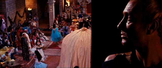 The Slave (1962) split diopter shot