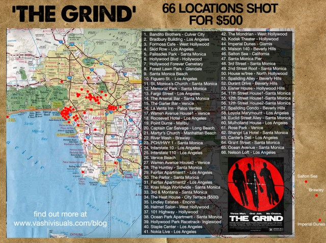 The 66 locations of The Grind