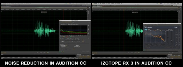 Noise reduction in Audition CC