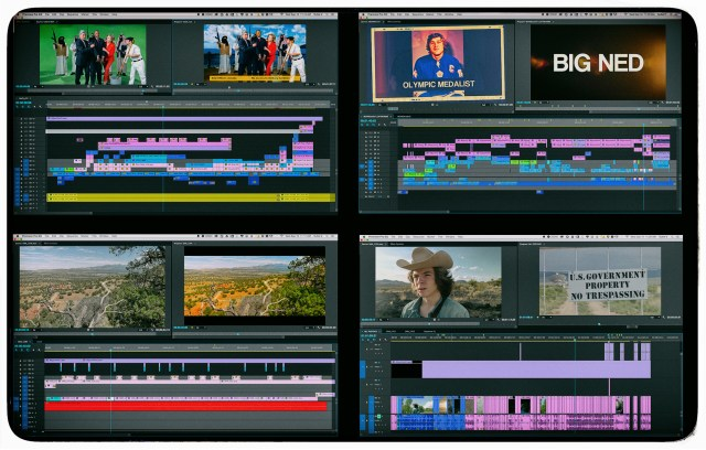 4 short form projects cut in Premiere Pro
