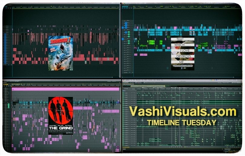 Premiere Pro Feature film Timelines