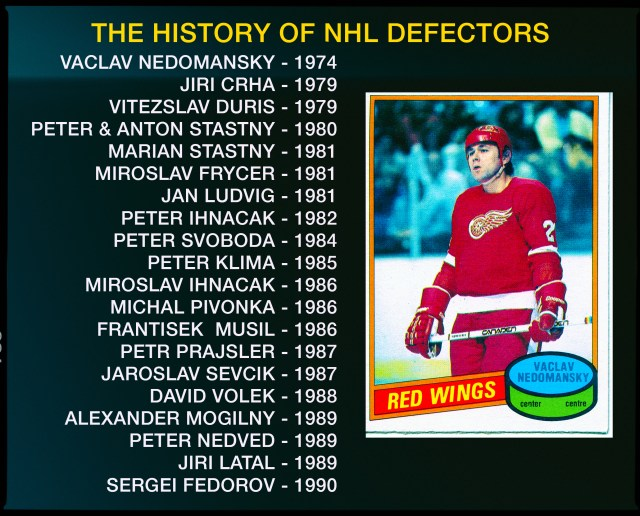 The first 21 NHL defectors