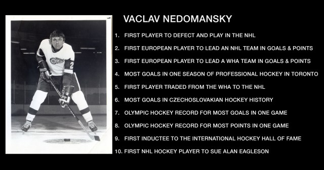 10 Nedomansky Hockey Facts