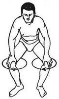 Как делать зарядку по утрам: круговые движения в коленных суставах