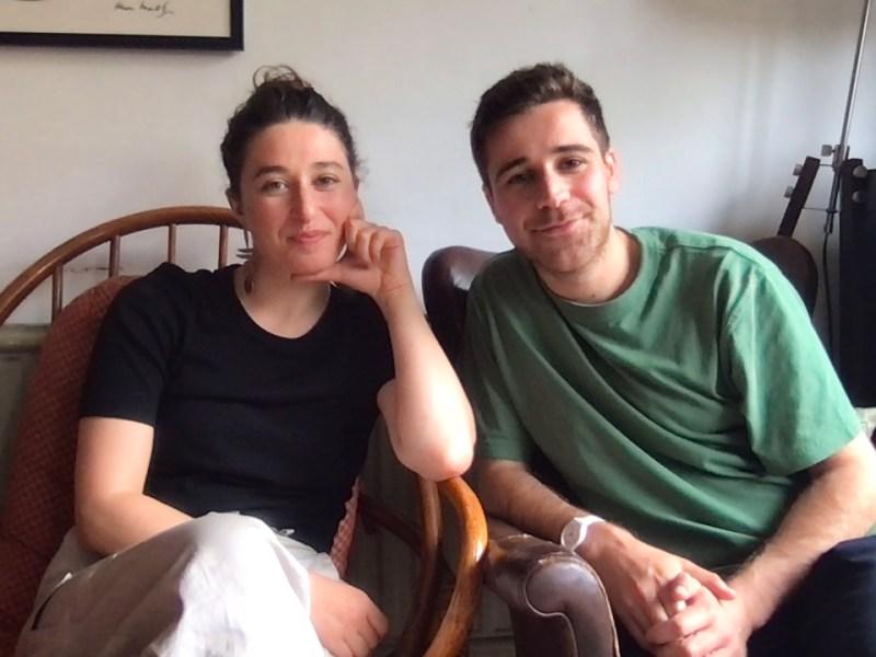The editors of Vashti, Rivkah Brown and Aron Keller