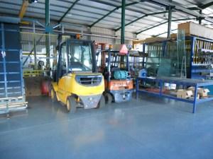 Equipamentos para transporte de Vidro
