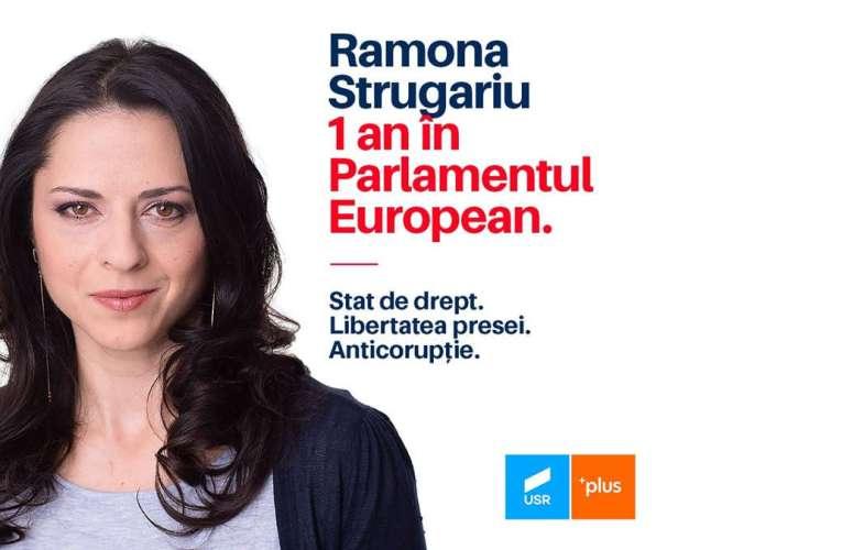 Ea este europarlamentarul vasluienilor. Ramona, bârlădeanca pe care ați votat-o pentru Bruxelles!