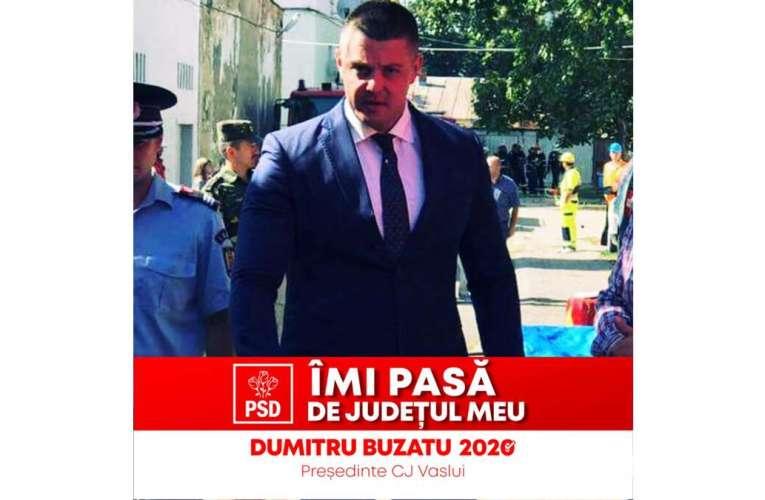 El este tânărul din generația de mâine a PSD Vaslui! Merită votat!