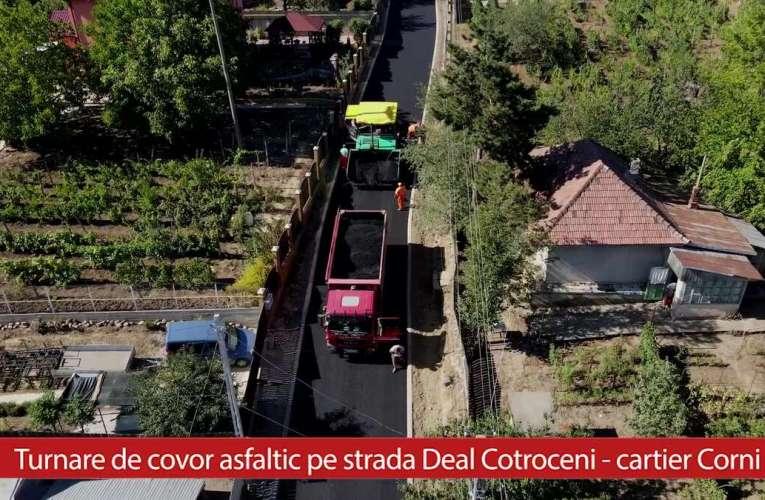 Viacons Rutier lucrează din plin în cartierul Corni. Primarul Ciupilan se ține de cuvânt! (VIDEO)