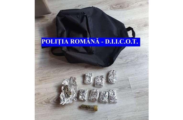 Un ieșean care vindea droguri în toată Moldova, reținut de DIICOT Vaslui!