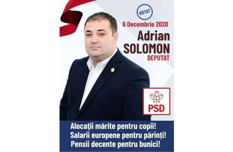 Deputatul Solomon a propus creșterea salariului minim, până în 2024! PSD vrea să crească salariile românilor, PNL și USR refuză!