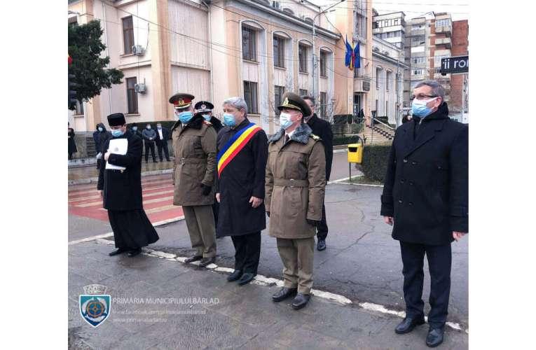 Primarul Bârladului, semn de adâncă prețuire și respect pentru domnitorul Alexandru Ioan Cuza!