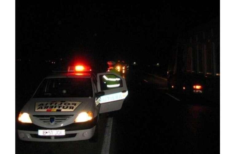 Șofer beat și recalcitrant, din Boțești, prins la Văleni! A încercat să fugă de polițiști!