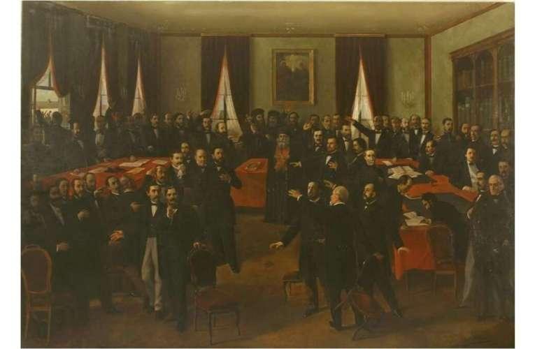 24 ianuarie 1859-Unirea Principatelor Române!