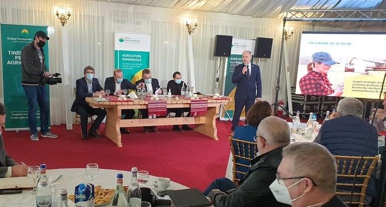 Managerul Evel-H Costești, alături de ministrul Agriculturii, la Galați! Dan Hurduc a povestit despre necazurile fermierilor vasluieni!