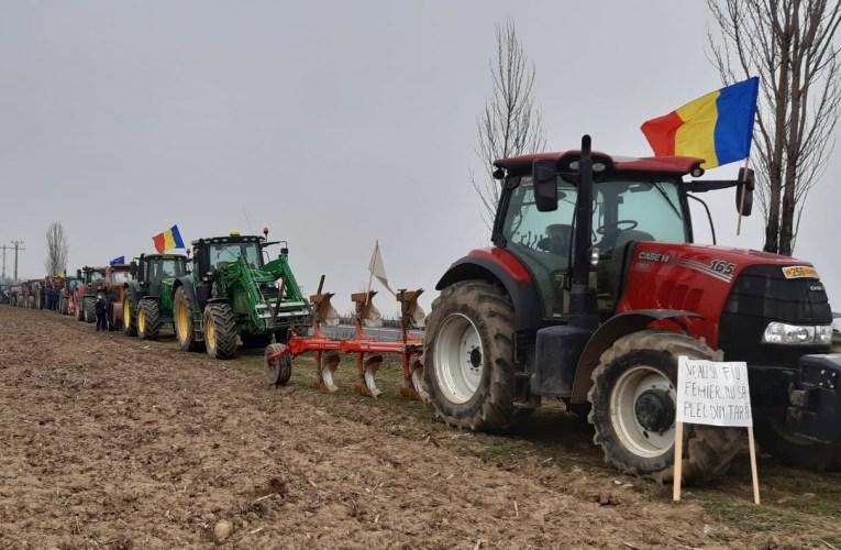 Protest de amploare, astãzi, la Vaslui. Fermierii ies în stradã.