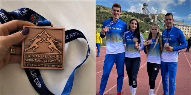 Mirela Lavric face istorie pentru județul Vaslui! Medalie de bronz, pentru echipa României!