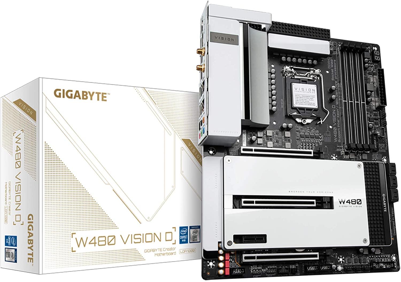 Gigabyte Z590I VISION D LGA 1200 Mini-ITX Motherboard Review