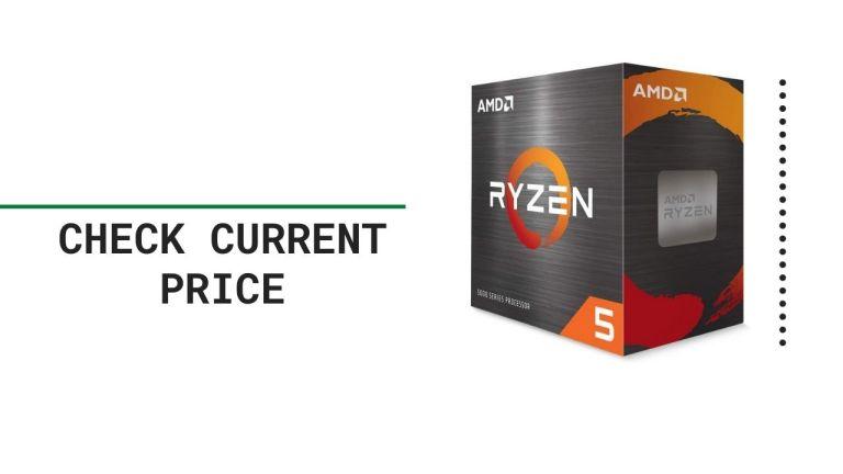 AMD Ryzen 5 5600X 6-core, 12-Thread Unlocked Desktop Processor