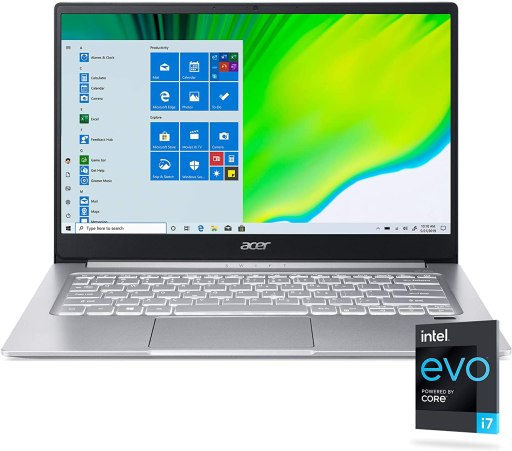 Acer Swift 3 - Cheapest Laptop With Thunderbolt 4