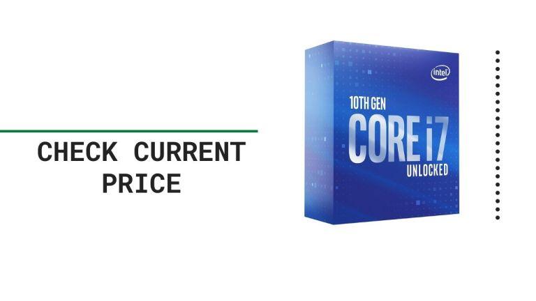 Intel Core i7-10700K Desktop Processor 8 Cores