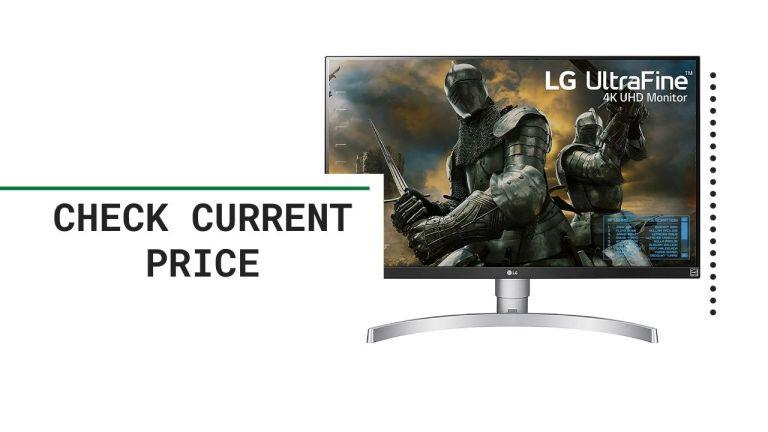 LG 27UK650-W 27 Inch 4K UHD IPS LED Monitor