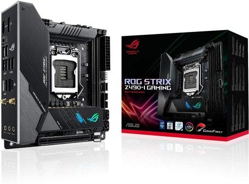 ASUS ROG Strix Z490-I Gaming Z490 Motherboard