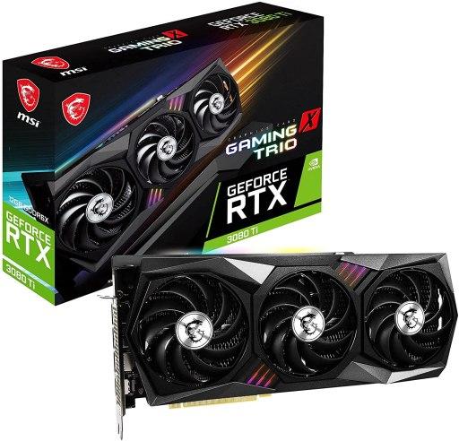 MSI Gaming GeForce RTX 3080 Ti Gaming X Trio 12GB