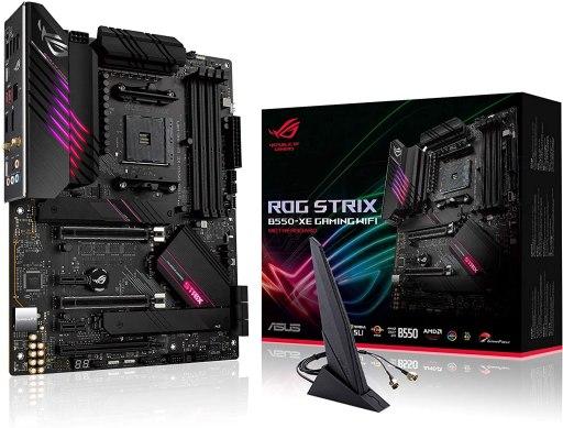 ASUS ROG Strix B550-XE ATX Gaming Motherboard