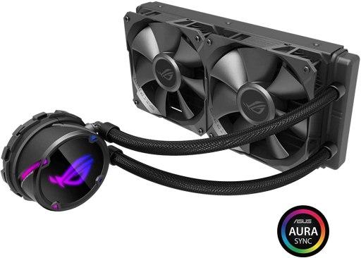 ASUS ROG Strix LC 240 RGB AIO Liquid CPU Cooler 240mm