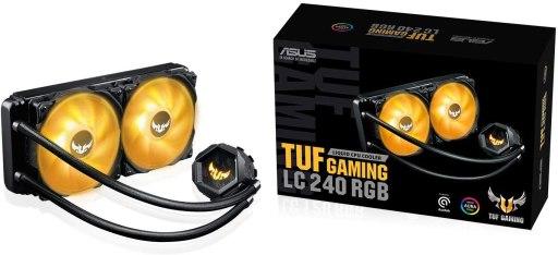 ASUS TUF Gaming LC 240 RGB All-in-one Liquid CPU Cooler