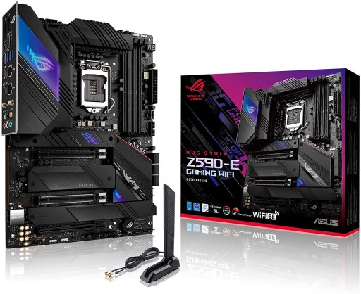 Asus ROG Strix Z590-E Gaming WiFi 6E Thunderbolt 4 Motherboard