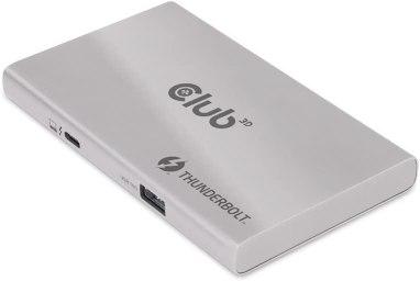 Club 3D Smart Power Portable 5-1 Thunderbolt 4 Hub