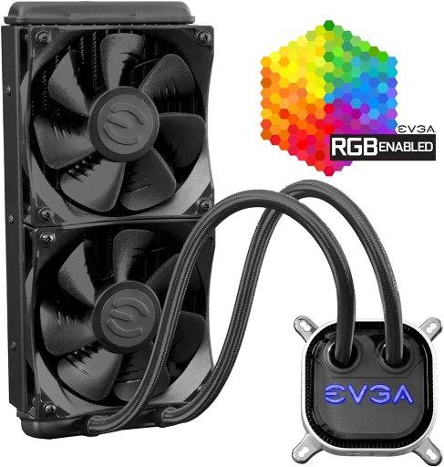 EVGA CLC 240mm All-In-1 RGB LED CPU Liquid Cooler