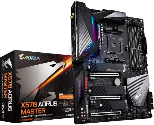 GIGABYTE X570 AORUS Master Gaming Motherboard
