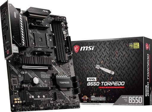 MSI MAG B550 Torpedo Gaming Motherboard