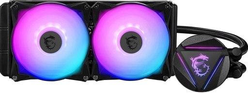MSI MAG Series CORELIQUID 240R, RGB CPU Liquid Cooler