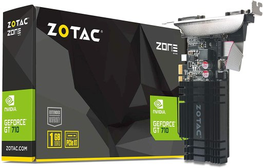 ZOTAC GeForce GT 710 1GB Low Profile Graphic Card
