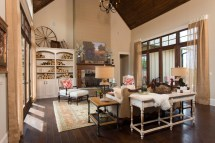 Southern Rustic Living Room