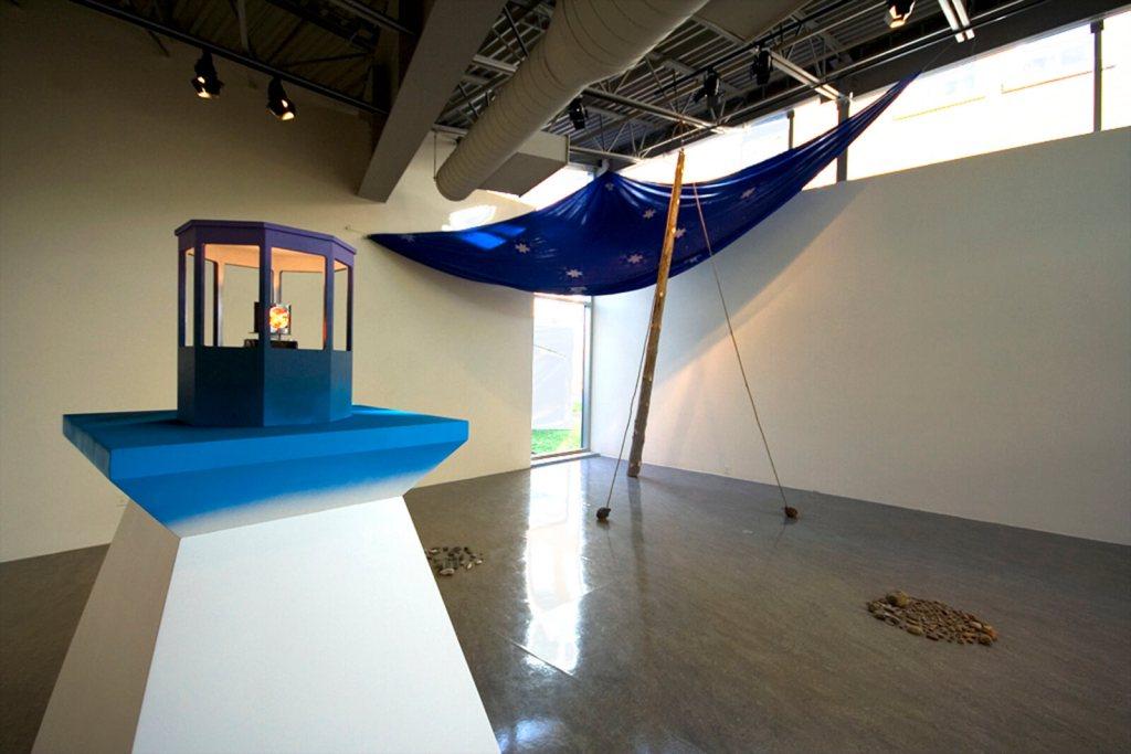 La Famille PLOUFFE, Longueuil LA R'TONTISSE À DICK | Installation | Cenrte d'artistes Vaste et Vague